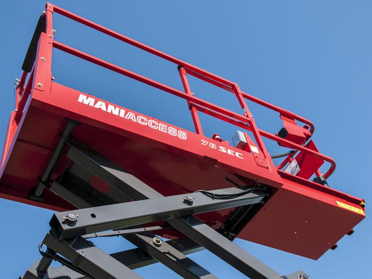 Découvrez les nacelles ciseaux MANITOU SEC / SE / SC