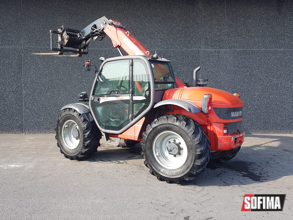MANITOU MLT627 - conducteur