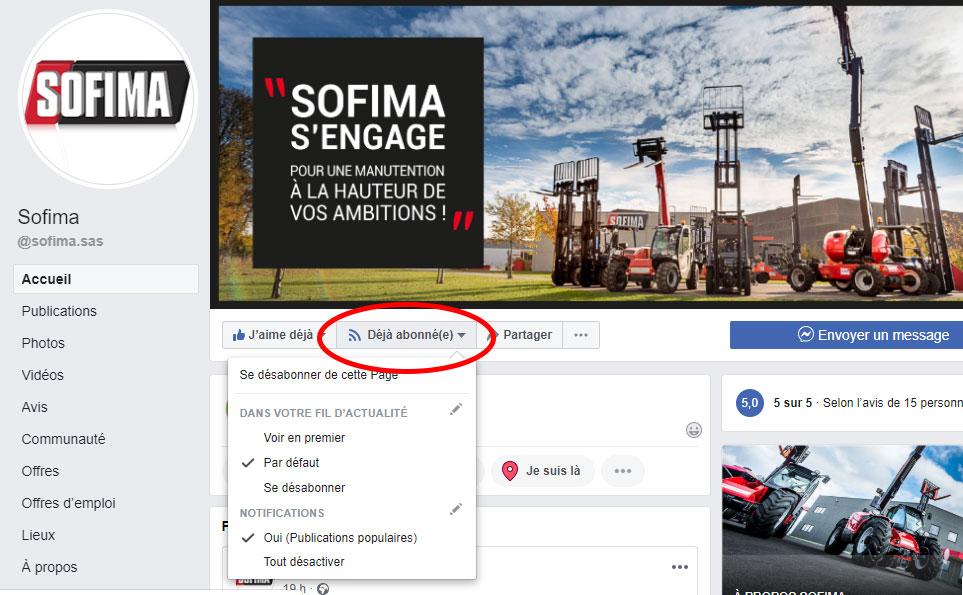 Facebook SOFIMA
