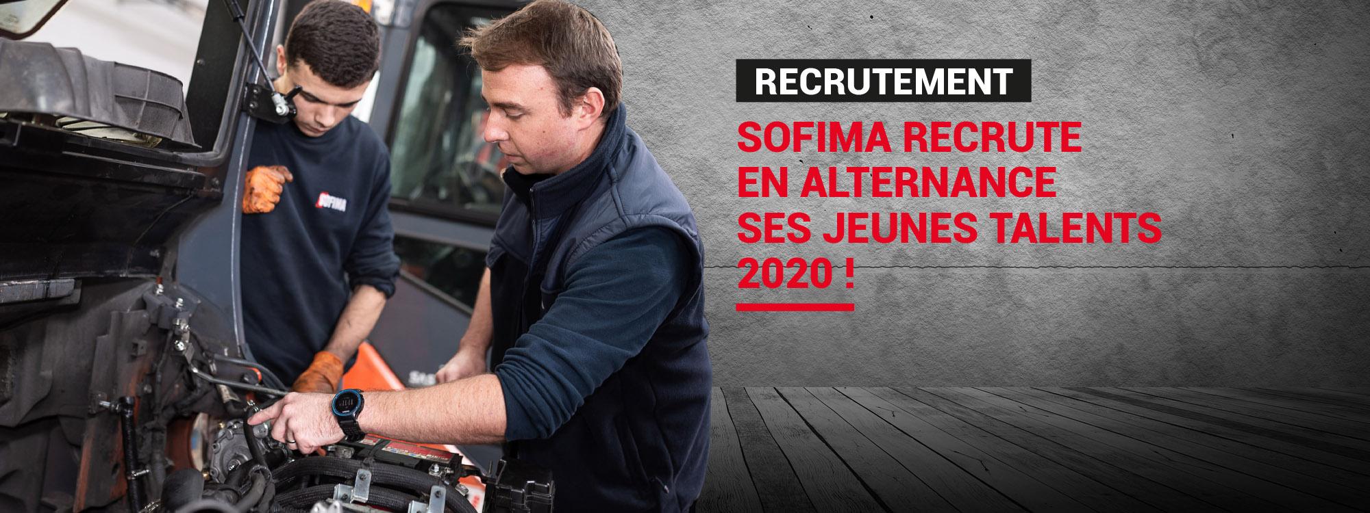 Recrutement SOFIMA